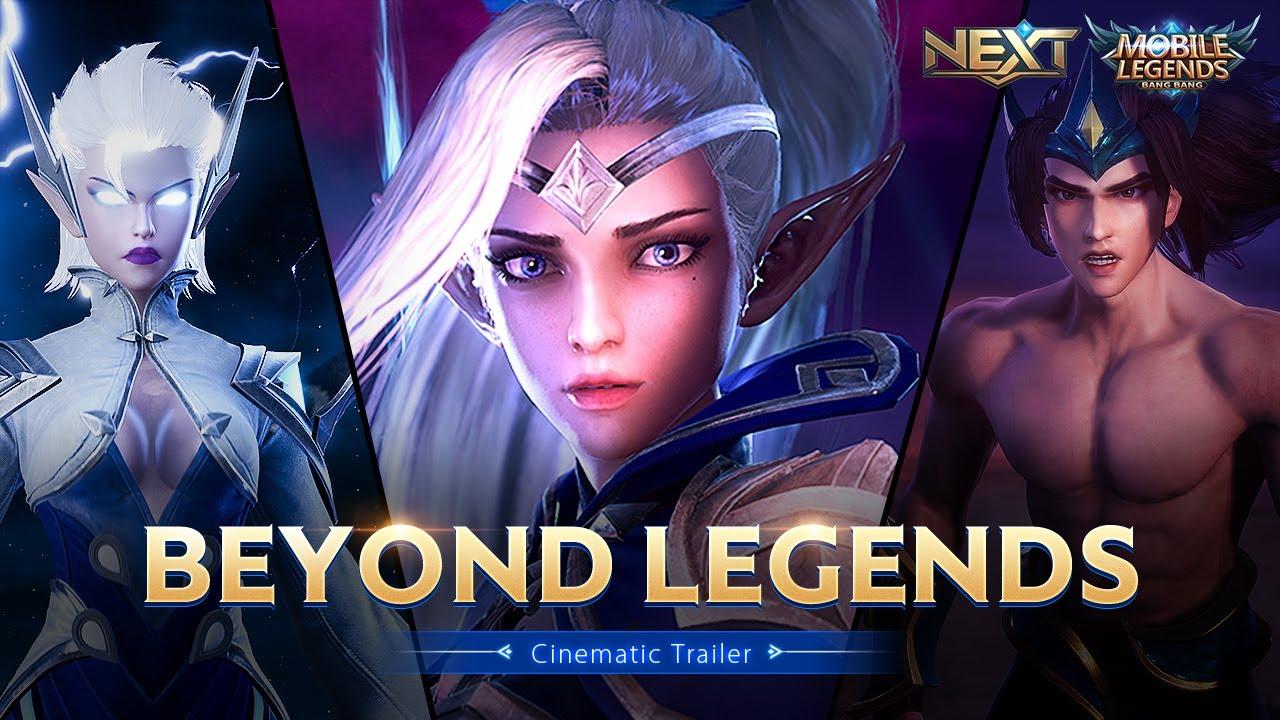 Beyond Legends | Project NEXT Cinematic Trailer | Mobile Legends: Bang Bang thumbnail