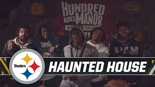 Haunted House visit with Edmunds, Sutton & more | Pittsburgh Steelers