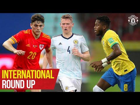 Manchester United | International Reds | Pogba, Rashford, Fernandes | Euro 2020 | Copa America