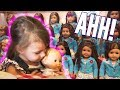 Violet Goes to the American Doll Store- and It's CRAZY | LeeshaVlogs