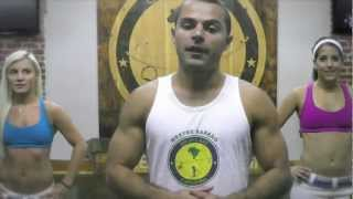 Axe Capoeira Toronto - Beginner Training #1 - How To Ginga