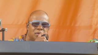 Stevie Wonder at Jazz Fest 2017 2017-05-06 I JUST CALLED TO SAY I LOVE YOU