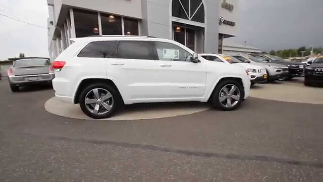 2015 jeep grand cherokee overland bright white clearcoat fc845926 mt vernon skagit youtube. Black Bedroom Furniture Sets. Home Design Ideas