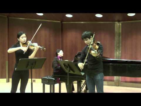 Mozart: Sinfonia Concertante (mvt.2) Chieh-Fan Yiu