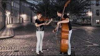 Karolina Radovani & Daniel Nix: Smetana - The Moldau for Violin and Bass, arr. M. Harvey