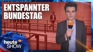 Lutz van der Horst im Bundestag, der nichts zu tun hat