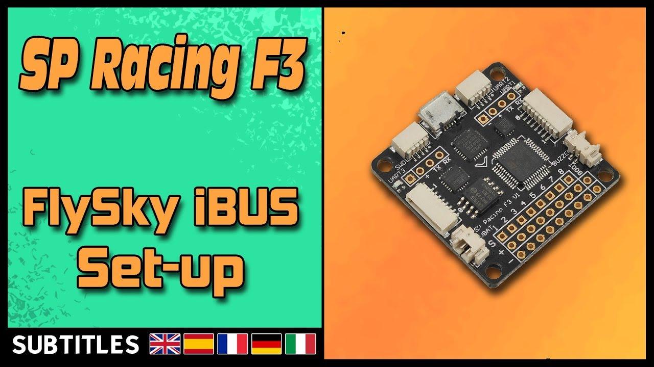 SP Racing F3 - i-Bus Setup