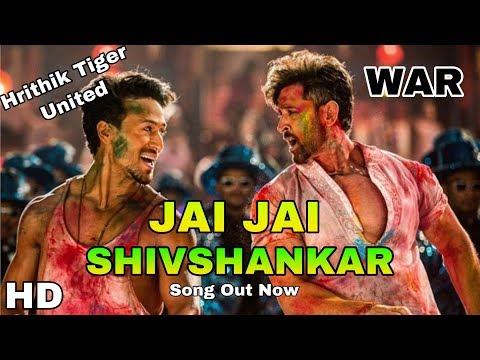 war-second-song-|-jai-jai-shiv-shankar-song-|-hrithik-vs-tiger-together,-war-movie,-song-out