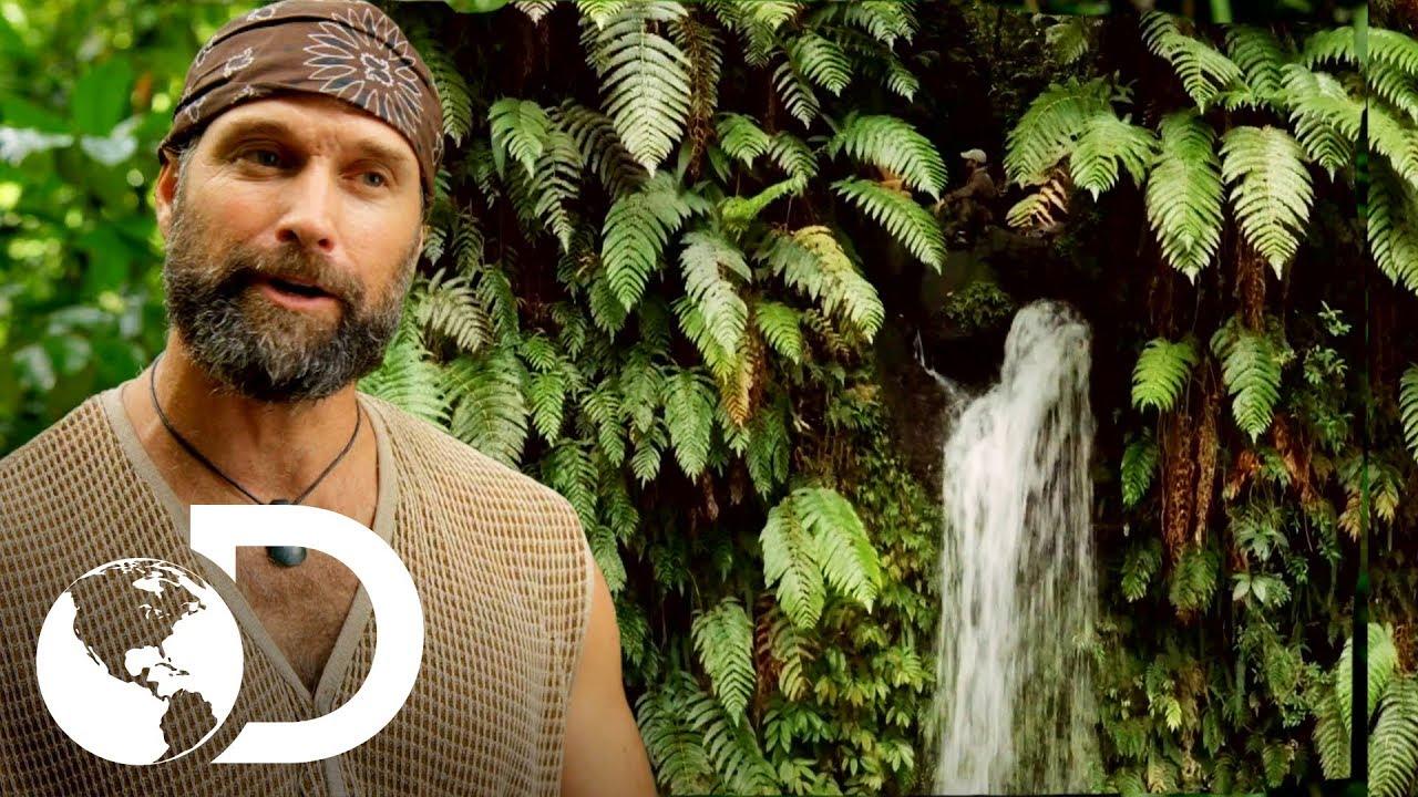 Acorralados en lo alto de una cascada | Desafío x 2 | Discovery  Latinoamérica
