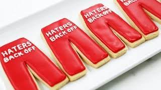 HATERS BACK OFF PANTS COOKIES - NERDY NUMMIES