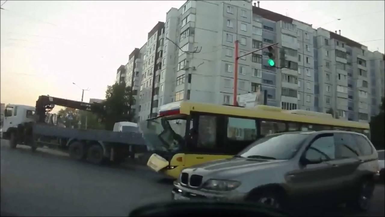 ДТП. Барнаул ул. Попова   Взлетная. 23.05.2016