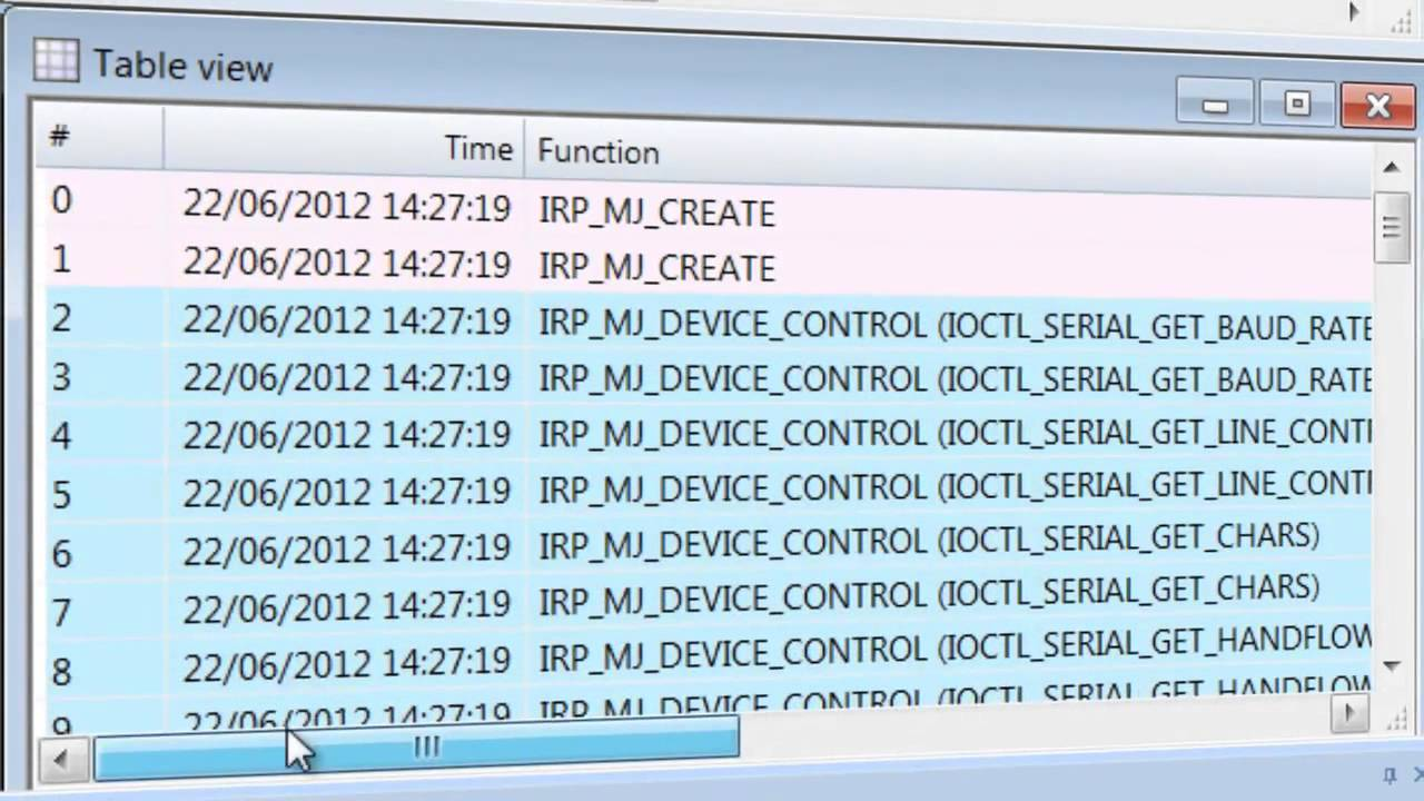 RS232 Monitor software for COM ports monitoring