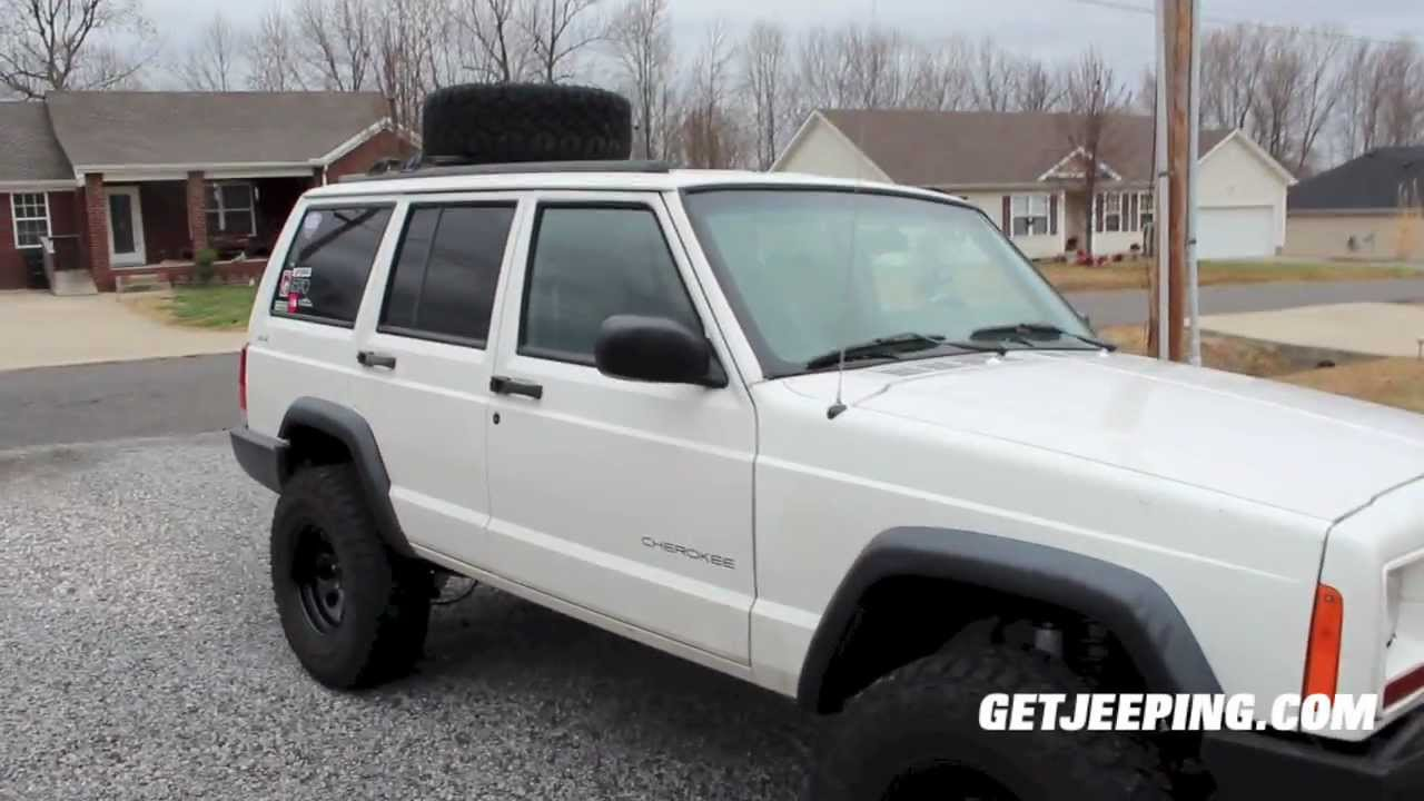 how to install rough country 3 suspension lift kit on 1984 2001 rh youtube com 1988 Jeep Cherokee 1988 jeep cherokee laredo owners manual