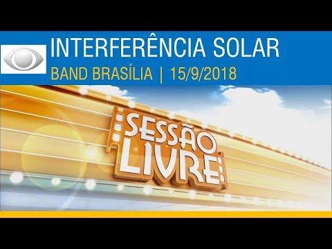 Band Brasília | ESPECIAL: Interferência solar nos satélites | 15/9/2018