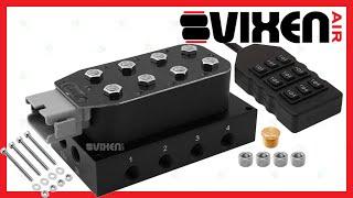 """📢 VIXEN AIR VXF4CM14B 1/4"""" NPT Manifold Air Valve 🔥"""
