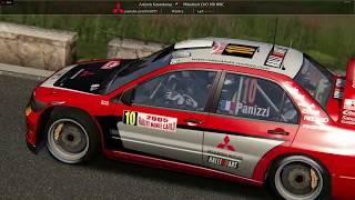 Assetto  Corsa Mitsubishi WRC mod