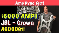 World's Most Powerful Car Audio Amplifier (2004) JBL Crown A6000Gti