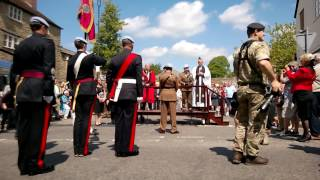 1 Regiment Army Air Corps Freedom of the Town parade and ceremony in Wincanton