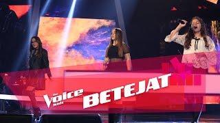 Zhaklina vs Eixhner vs Alisa - Rockaby | Betejat | The Voice Kids Albania 2018