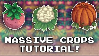 GIANT CROPS! - Stardew Valley Tutorial