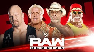 WWE Raw Reunion Live Reactions
