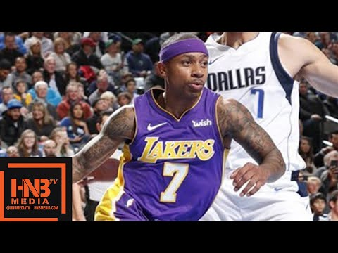 Los Angeles Lakers vs Dallas Mavericks Full Game Highlights / Feb 10 / 2017-18 NBA Season