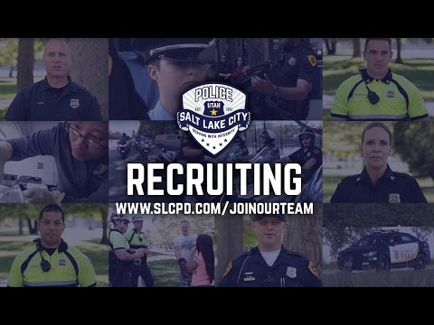 Salt Lake City Police Department's Recruiting Video