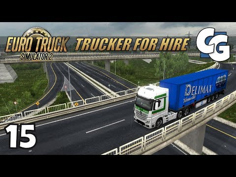 [ETS2] Trucker for Hire - Ep. 15 - Dublin to Limerick - ETS2 ProMods 2.20 Let's Play