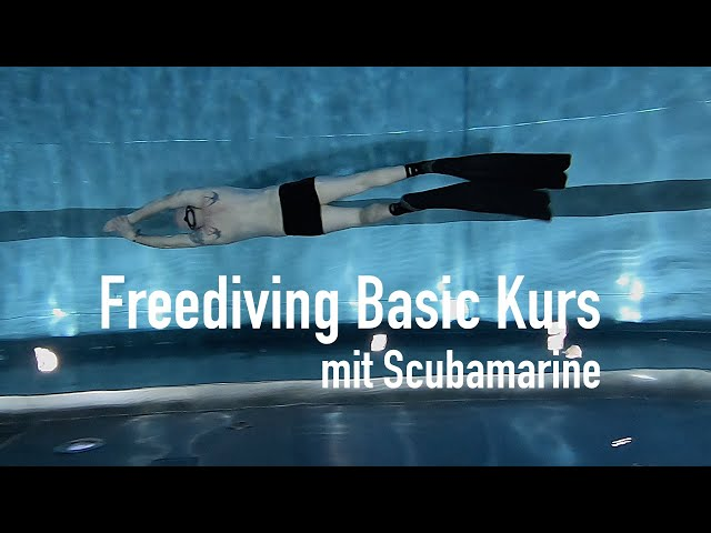 Freediving Basic Kurs bei Scubamarine