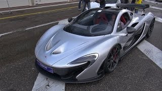 McLaren P1 - Roaring Engine Sounds!