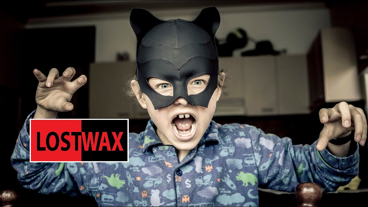 DIY Mask for Catwoman costume tutorial. Halloween fun! - YouTube