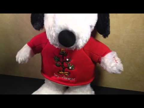 Hallmark Musical Snoopy Plush