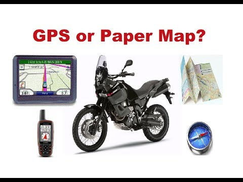 Long Motorcycle Trip - What Should I use - GPS or Paper Map?