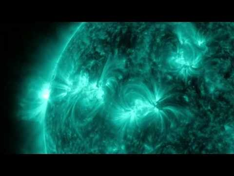 INCREDIBLE First SOLAR X-Class FLARES of 2013   Footage of the Sun from NASA