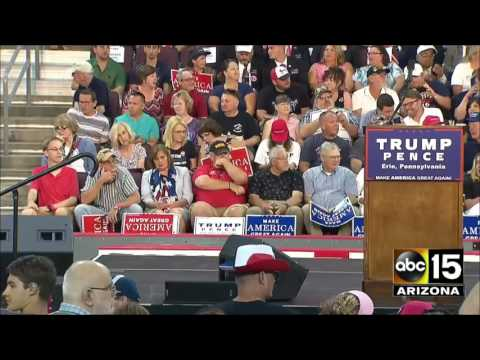 FULL EVENT: Donald Trump rally in Erie, Pennsylvania