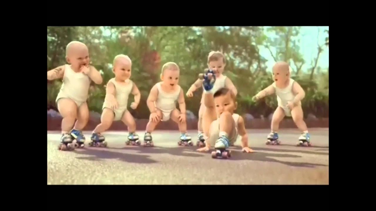 Roller skating babies -  New Babies Stunting Off Dont Drop That Youtube