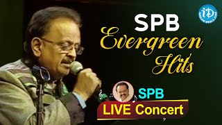 SP Balasubrahmanyam Evergreen Hit Songs   Live Concert   #RIPSPB   SPB Telugu Hit Songs
