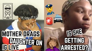 GIRL CAUGHT THOTTING TWICE!?—MOM CALLS THE COPS ON HER???| Thee Mademoiselle ♔