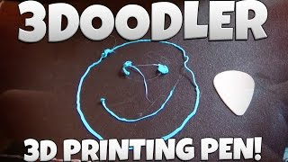 3Doodler | 3D PRINTING PEN! | Unboxing + Really Good Testing