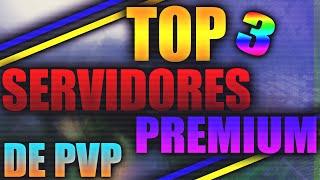 TOP 3 SERVERS PREMIUM DE PVP   PARA PRACTICAR UHC - AIM - CLICKS