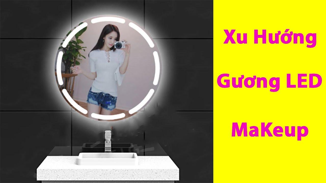 hướng dẫn chọn gương tròn trang điểm đèn led – kích thước tròn 80 cm | Gương Hoàng Kim