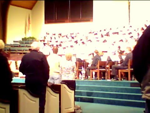 Jesus Christ Is Risen Today, Descant Jim Sadie, Organist