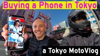 I Bought a Phone in TOKYO! WHAT A NIGHTMARE! | A Tokyo Motovlog