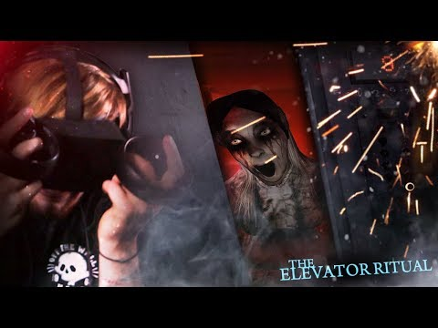 WHY I DON'T DO VR HORROR. (This was too much) || The Elevator Ritual (VR) thumbnail