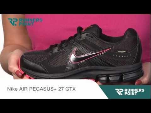 0e0eab59d9dd8 Nike AIR PEGASUS+ 27 GTX - Duration  1 14. RUNNERS POINT 964 views