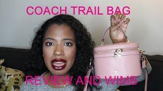 SELENA X COACH PINK TRAIL BAG: FIRST IMPRESSION REVIEW + WIMB