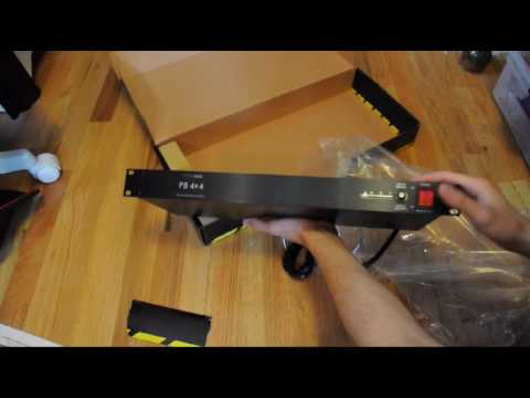 ART PB 4x4 Power Conditioner Unboxing and Setup