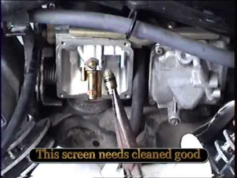 Yamaha VStar Carburator Cleaning  YouTube