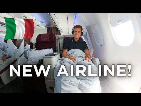 Europe's NEWEST Airline in Business Class | Air Italy A330 to New York
