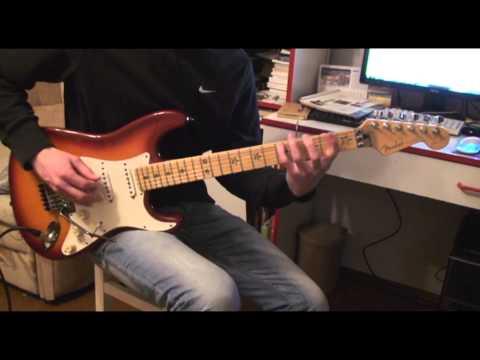 Fender USA Richie Sambora Stratocaster Artist Signature 1996